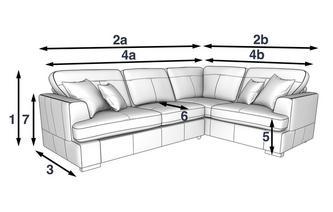 Amazing Freya Leather Linkszijdige 2 Delige Hoekbank Machost Co Dining Chair Design Ideas Machostcouk