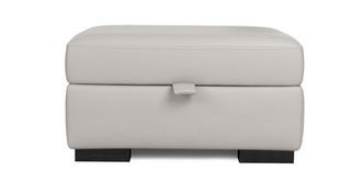 Freya Leather Large Storage Footstool
