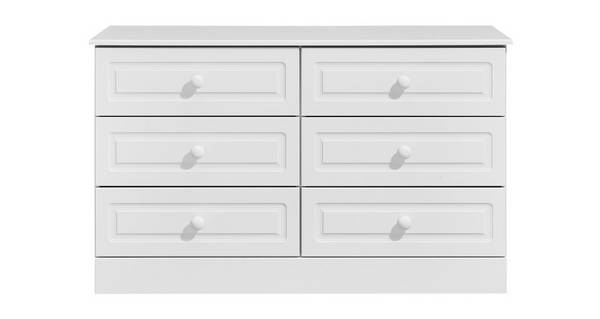 Frozen 6 Drawer Chest
