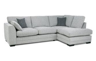 Formal Back Left Hand Facing Arm Open End Corner Sofa
