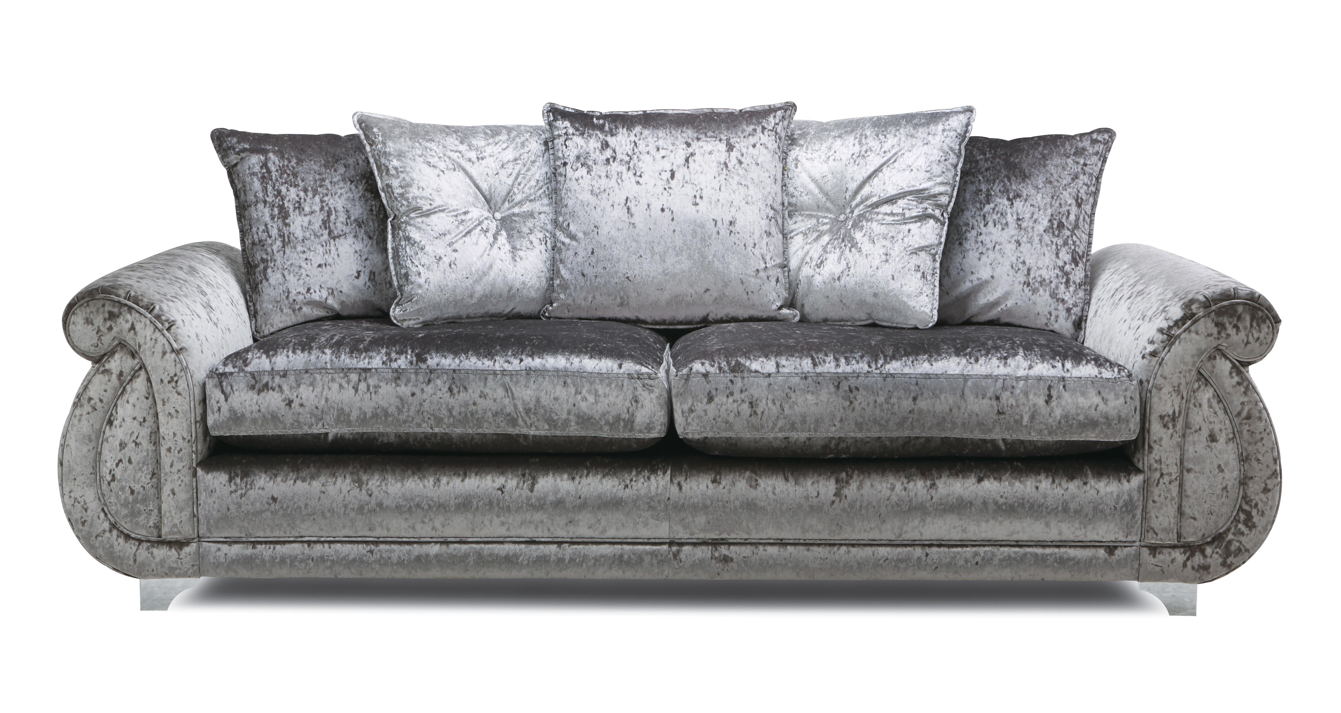 hot sale online 23dca 3de01 Gabriella: Pillow Back 4 Seater Sofa