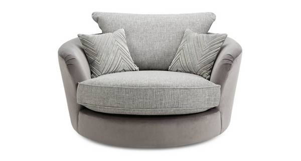 Galactic Large Swivel Chair Dfs, Spinning Sofa Chair