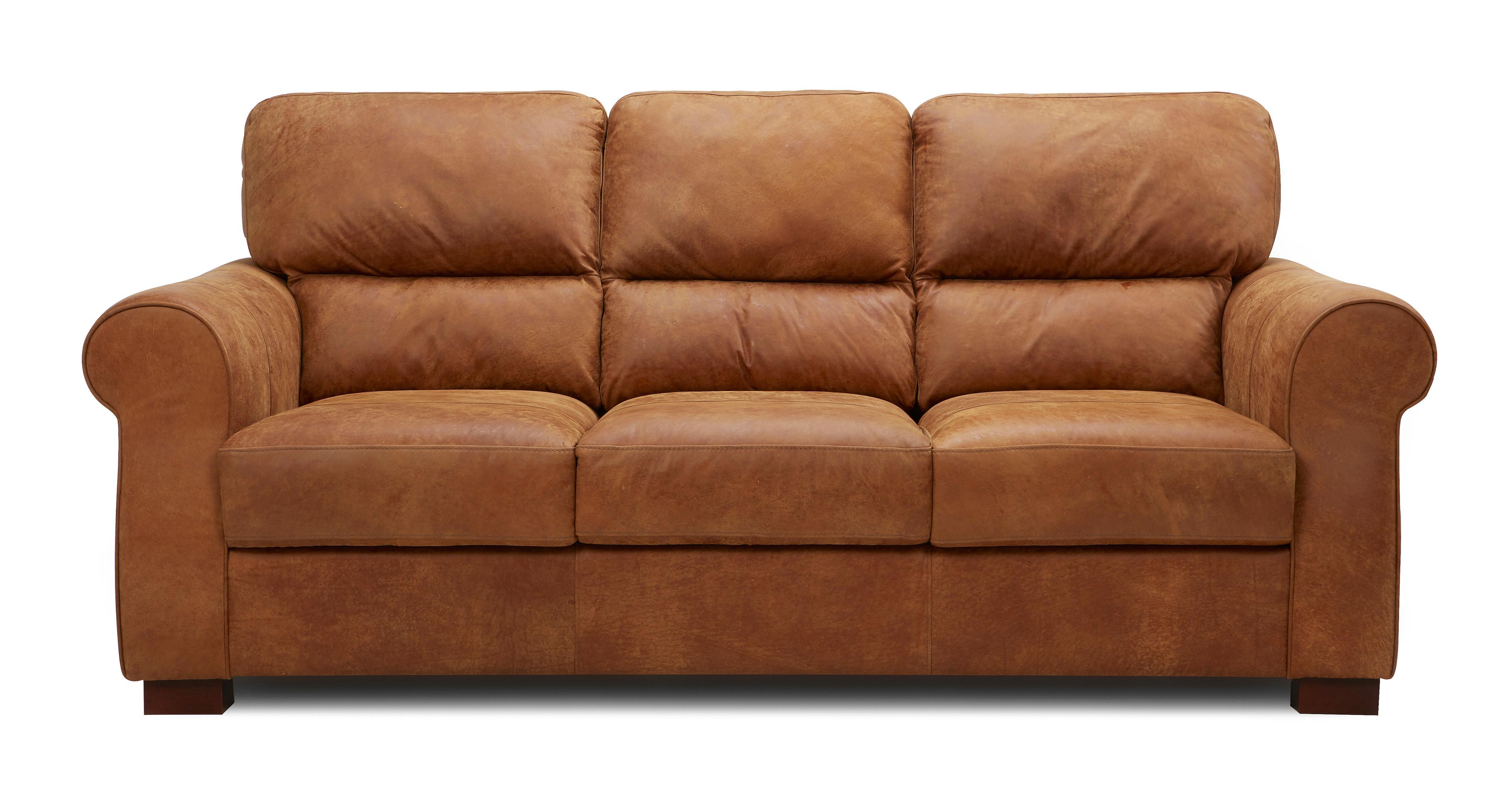 Great Garcia 3 Seater Sofa Saddle | DFS