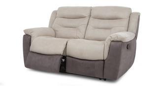 Garrick 2-zitter handbediende recliner