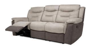 Garrick 3-zitter handbediende recliner