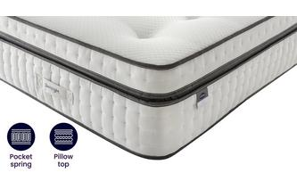 4ft 6 Double Pocket 2000 Mattress Silent Night Mattress