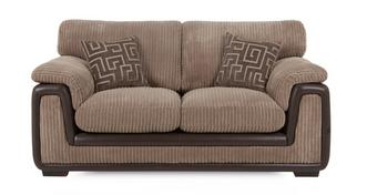 Genesis 2 Seater Formal Back Sofa