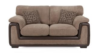 Genesis 2 Seater Formal Back Deluxe Sofa Bed
