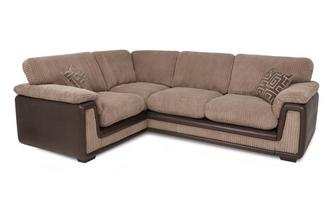 Right Hand Facing 2 Seater Formal Back Corner Sofa with Removable Arm Genesis