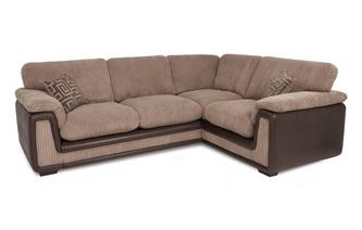 Left Hand Facing 2 Seater Formal Back Corner Deluxe Sofa Bed with Removable Arm Genesis