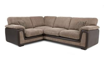Right Hand Facing 2 Seater  Formal Back Corner Deluxe Sofa Bed Genesis