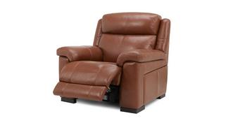 Georgia Leather and Leather Look Manual Recliner Chair