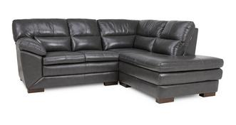 Global Left Hand Facing Arm Corner Sofa