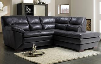 Global Left Hand Facing Arm Corner Sofa Milan