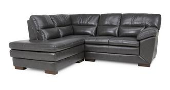 Global Right Hand Facing Arm Corner Sofa