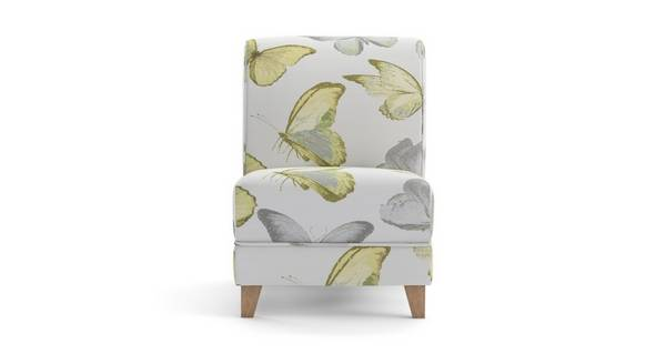 Gloss Pattern Accent Chair