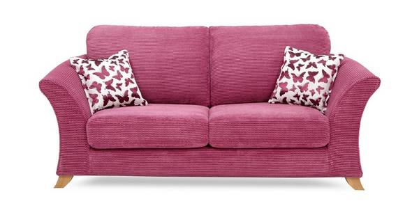 Gloss 2 Seater Formal Back Sofa