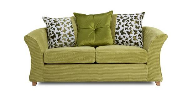 Gloss 2 Seater Pillow Back Deluxe Sofa Bed
