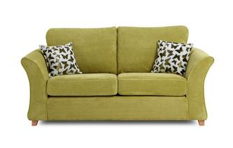 Gloss Sofabed Clearance 2 Seater Formal Back Deluxe Sofa Bed Gloss