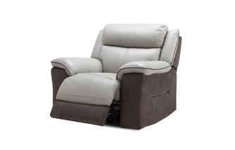 Manual Recliner Chair Bacio Vellutato