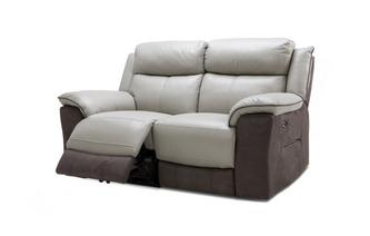 2 Seater Power Recliner Bacio Vellutato
