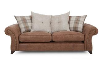 3 Seater Pillow Back Sofa
