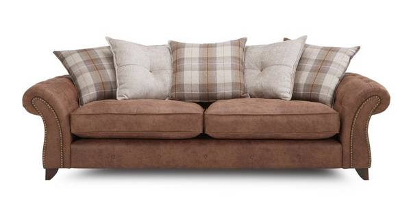 Goulding 4 Seater Pillow Back Sofa