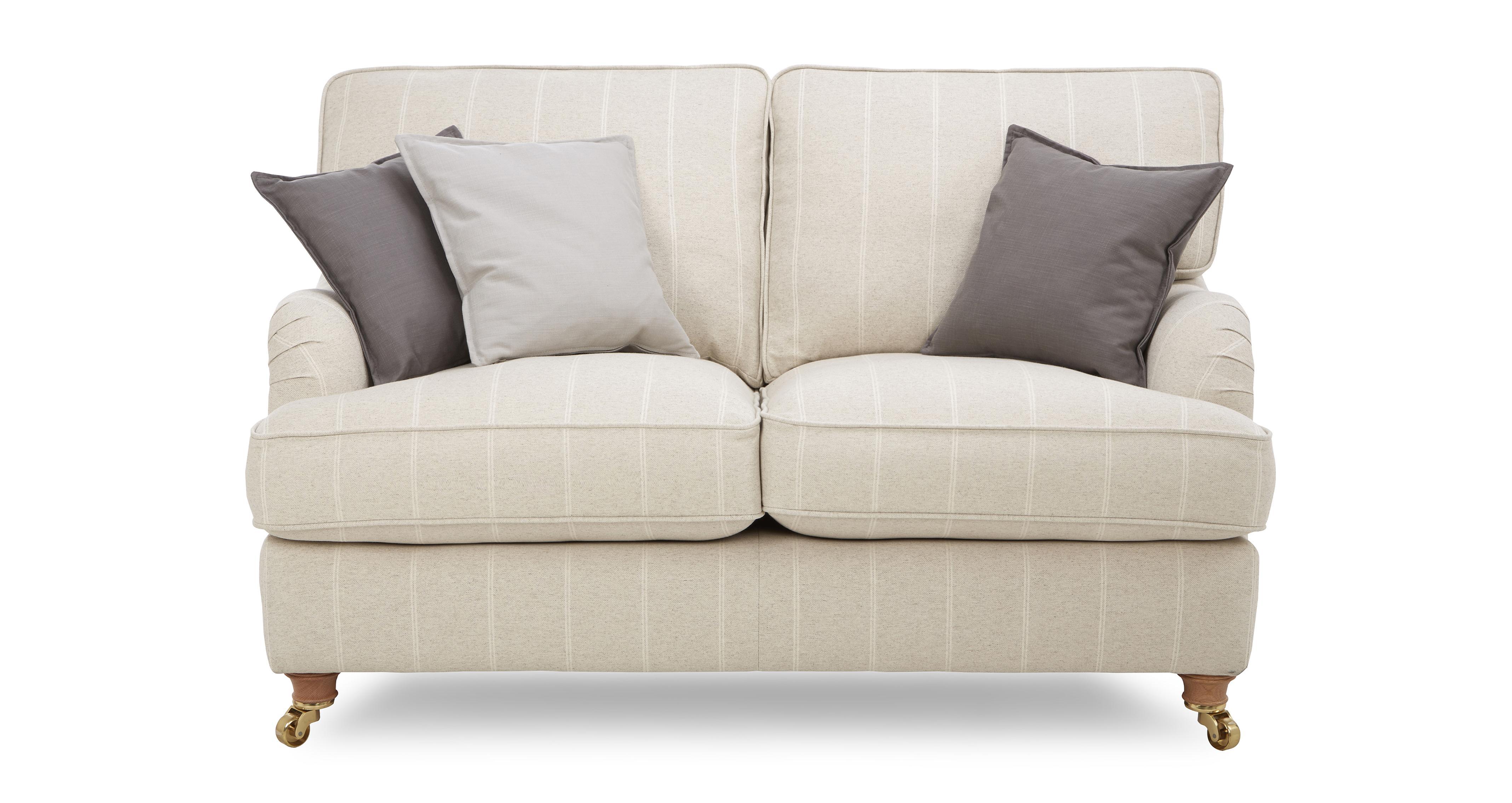 Magnificent Gower Stripe 2 Seater Sofa Uwap Interior Chair Design Uwaporg