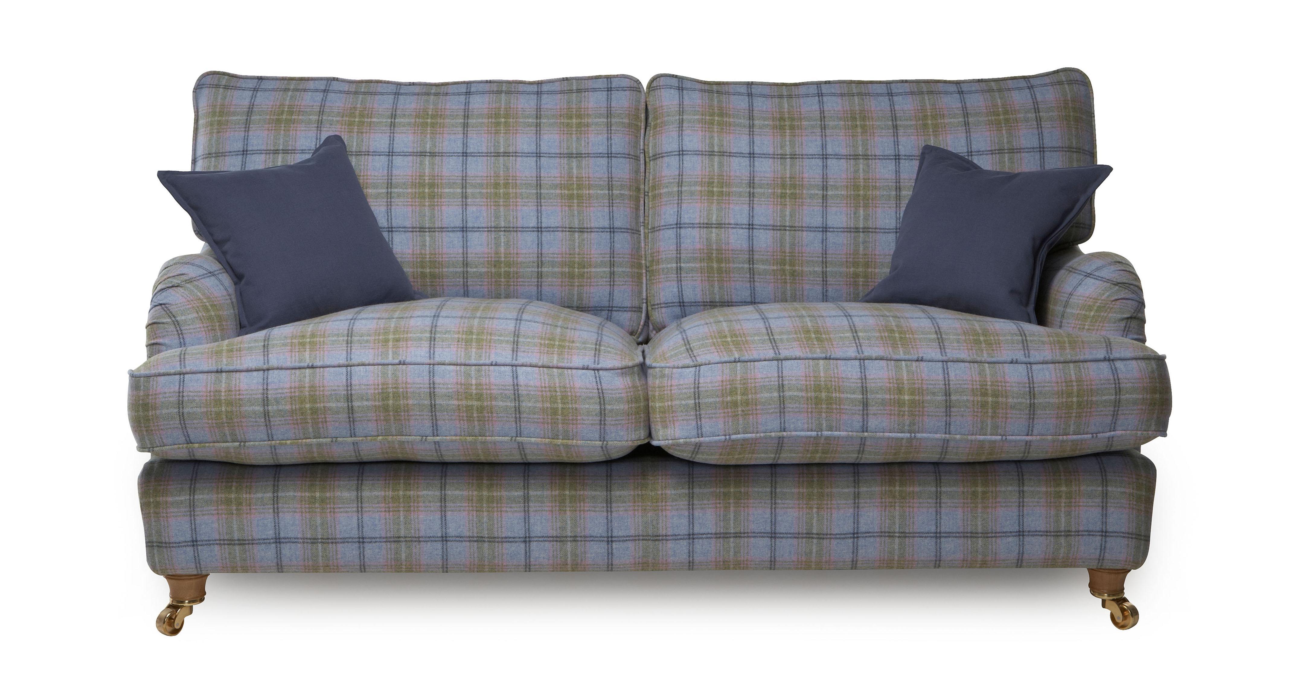 Gower Plaid Large Sofa Gower Plaid Dfs