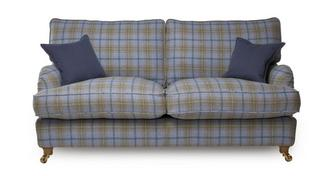Gower Plaid 3 Seater Sofa