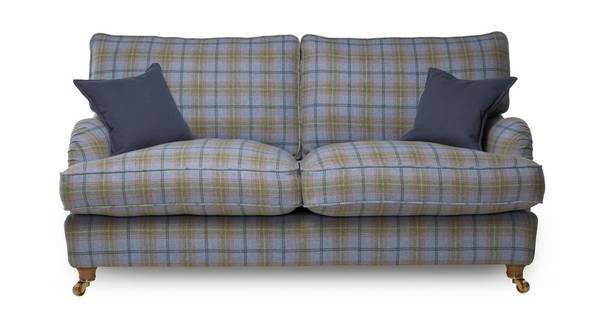 Gower Plaid Large Sofa