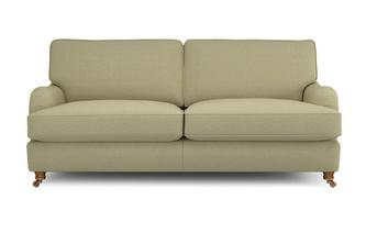 Racing Plain 3 Seater Sofa Gower Racing Plain