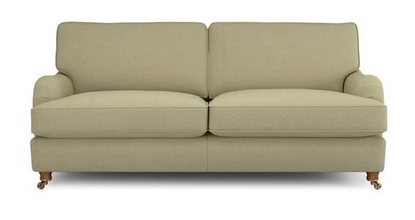 Gower Racing Plain Large Sofa