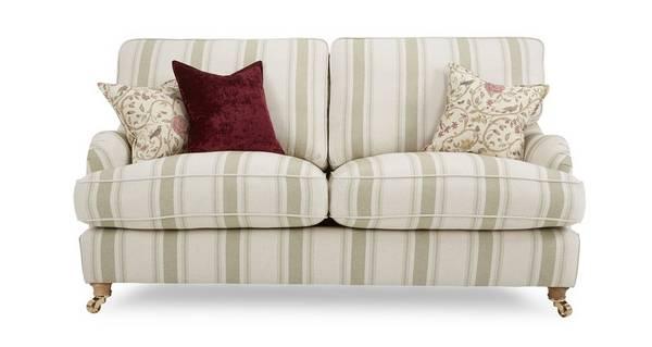 Gower Racing Stripe Large Sofa