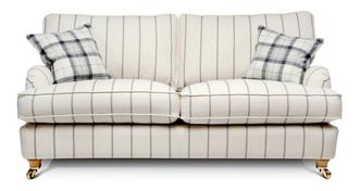 Gower Stripe 3 Seater Sofa