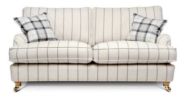 Gower Stripe Large Sofa
