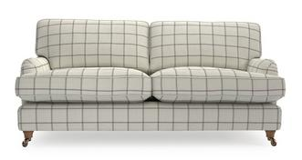 Gower Check 4 Seater Sofa