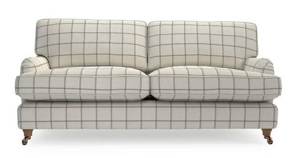 Gower Check Grand Sofa