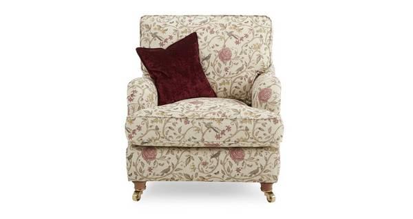 Gower Pattern Armchair