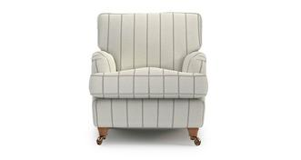 Gower Stripe Armchair