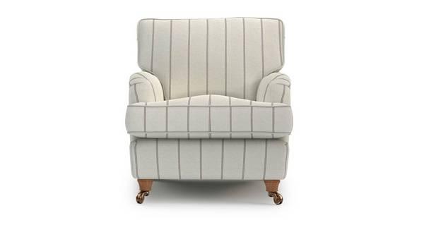 Gower Stripe Armchair