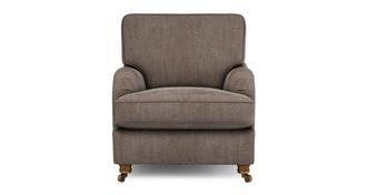 Gower Velvet Armchair