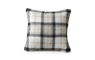 Medium Scatter Cushion Gower Plaid