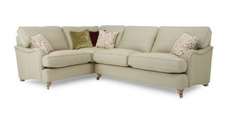 Gower Racing Plain Right Hand Facing 3 Seater Corner Sofa
