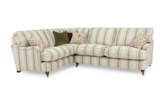 Racing Stripe Right Hand Facing 3 Seater Corner Sofa