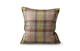 Small Scatter Cushion Gower Plaid