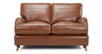 Gower Leather Medium Sofa