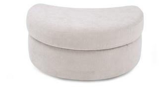 Gracie Half Moon Footstool