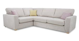 Gracie Right Hand Facing 2 Seater Corner Deluxe Sofa Bed