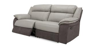 Grammar 3 Seater Manual Recliner